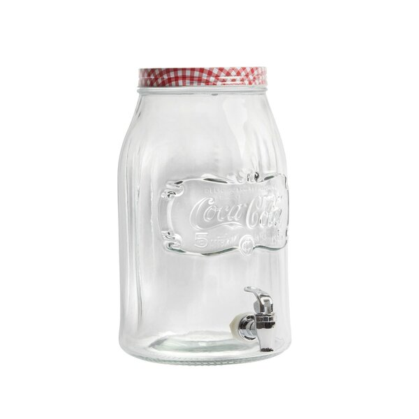 Coca-Cola Country Classic Mason 256 Oz. Beverage Dispenser by Gibson