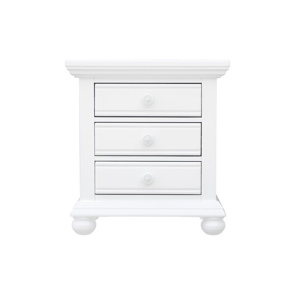 Kailyn 3 Drawer Nightstand by August Grove