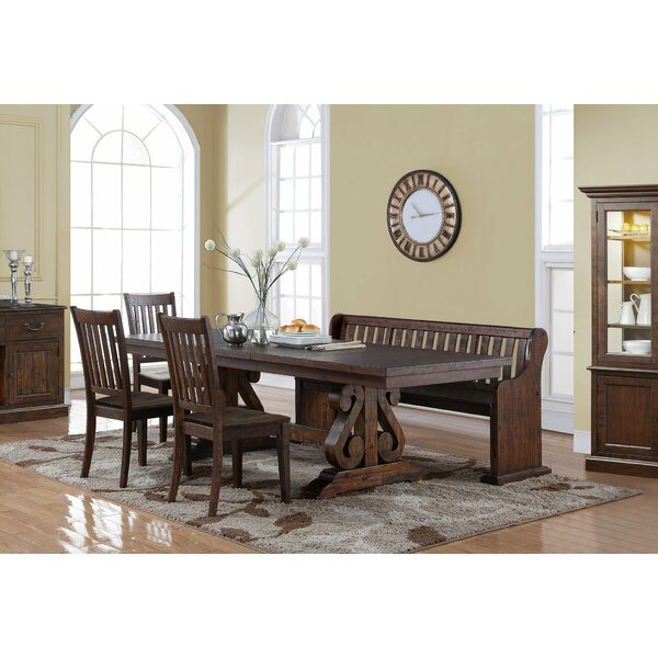 Averi 6 Piece Extendable Dinning Set by Alcott Hill Alcott Hill