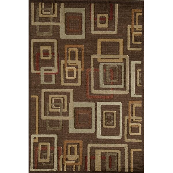 Allston Brown Area Rug by Threadbind