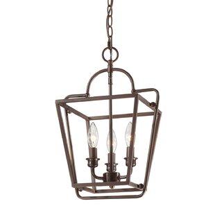 Seraphina 3-Light Lantern Pendant by Gracie Oaks