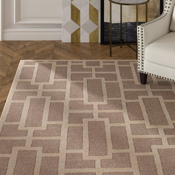 Perpetua Hand-Tufted Ivory Area Rug by Mercer41