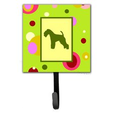 Lakeland Terrier Leash Holder and Wall Hook by Caroline's Treasures