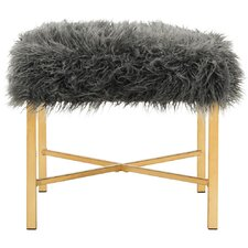 Aveliss Faux Lamb Bedroom Bench by Willa Arlo Interiors