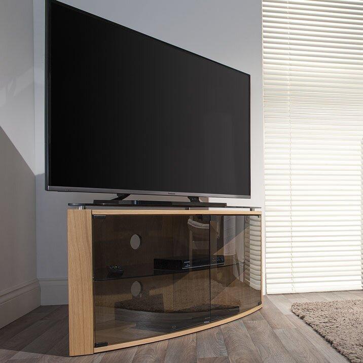 techlink tv regal bench f r fernseher bis 55. Black Bedroom Furniture Sets. Home Design Ideas