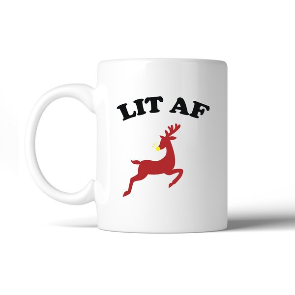 Mccullen Lit Af Coffee Mug by The Holiday Aisle