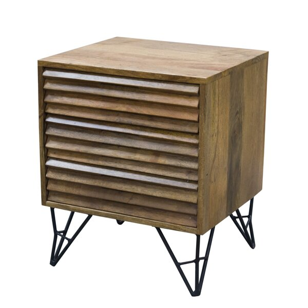 Bonnette Shutter 2 Drawer Nightstand By Foundry Select by Foundry Select New Design