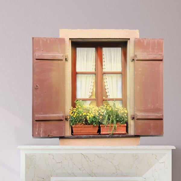Sunshine Window Wall Decal by Winston Porter