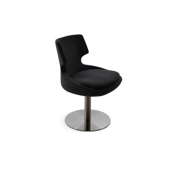Elrod Swivel Upholstered Dining Chair by Orren Ellis