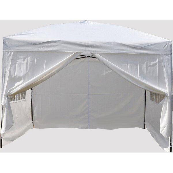 Alvin 10 Ft. W x 10 Ft. D Steel Pop-Up Canopy by Freeport Park