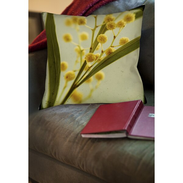 Vintage Botanicals 1 Printed Throw Pillow by Manual Woodworkers & Weavers