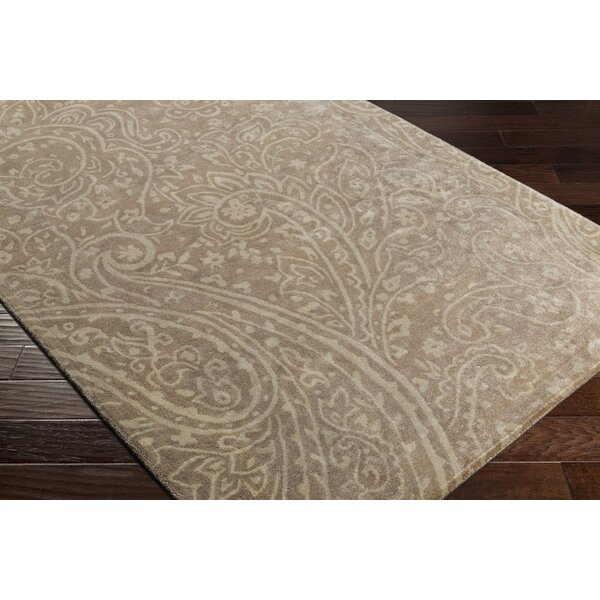 Grant Hand-Tufted Brown/Neutral Area Rug by Darby Home Co