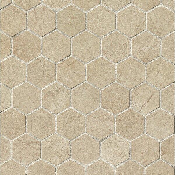 El Dorado 2 x 2 Porcelain Hexagon Mosaic Tile in Sand by Grayson Martin