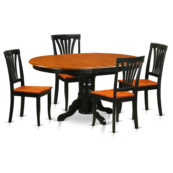 #2 Spurling 5 Piece Extendable Dining Set By August Grove Herry Up
