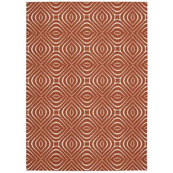 Conforti Paprika Area Rug by Mercury Row