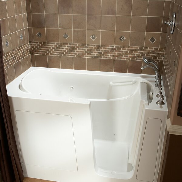 59.5 x 30 Walk In Whirlpool Bathtub by American St