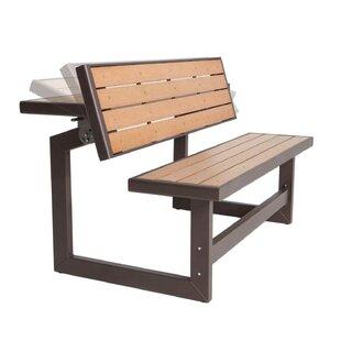 Convertible Wood Park Bench