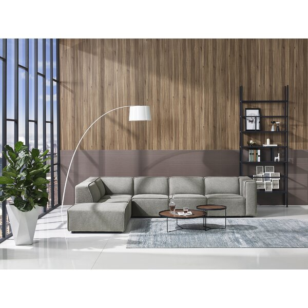 Summertown Modern Modular Sectional with Ottoman by Orren Ellis