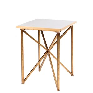 Blanc End Table by Statements by J