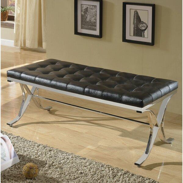 Vernice Upholstered Bench by Orren Ellis