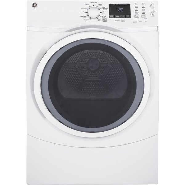 7.5 cu. ft. Electric Dryer with Steam by GE Applia