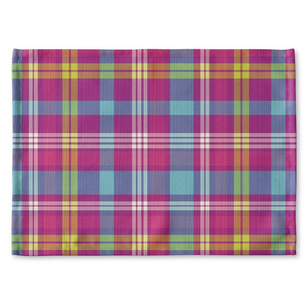 Harloe Plaid Placemat by Latitude Run