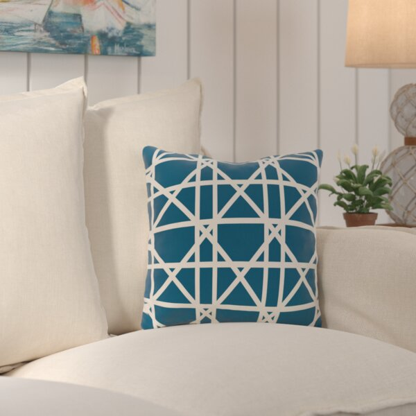 Cabana Colony Geometric Outdoor Throw Pillow by Beachcrest Home