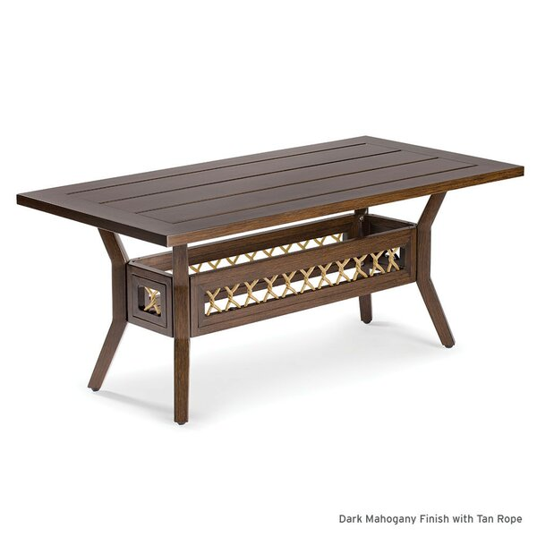 Echo Bay Aluminum Coffee Table by Eddie Bauer