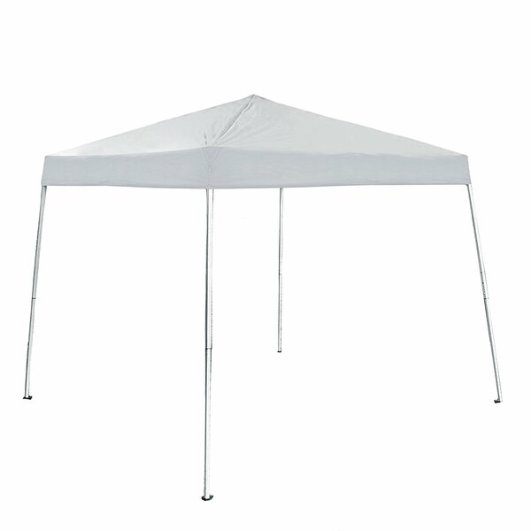 8 Ft. W x 8 Ft. D Steel Pop-Up Canopy by ALEKO