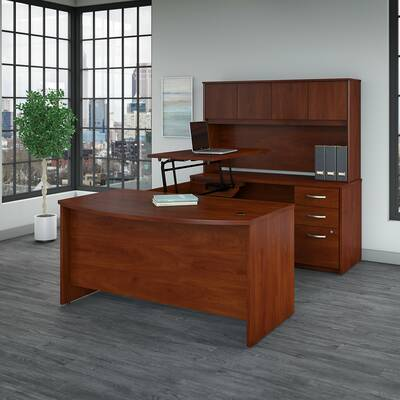 U Shaped Executive Desk White Shabby Chic Desk