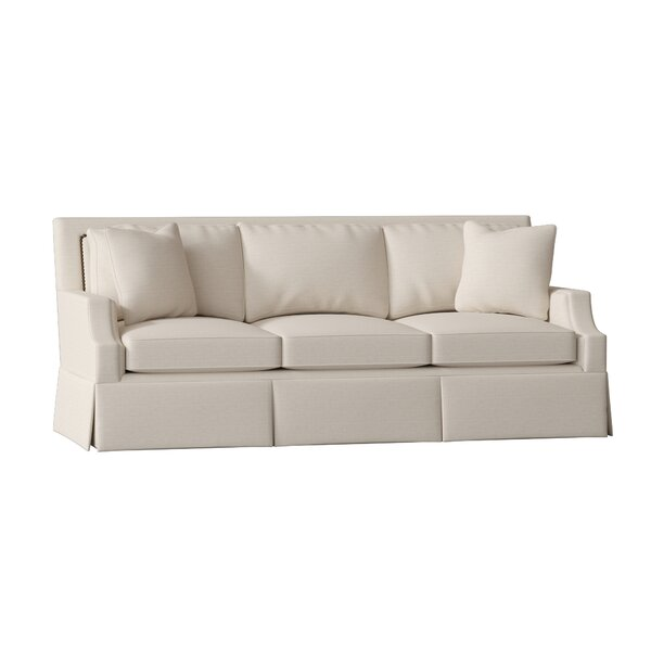 Insider Guide Paige Kick Pleat Sofa by Gabby by Gabby