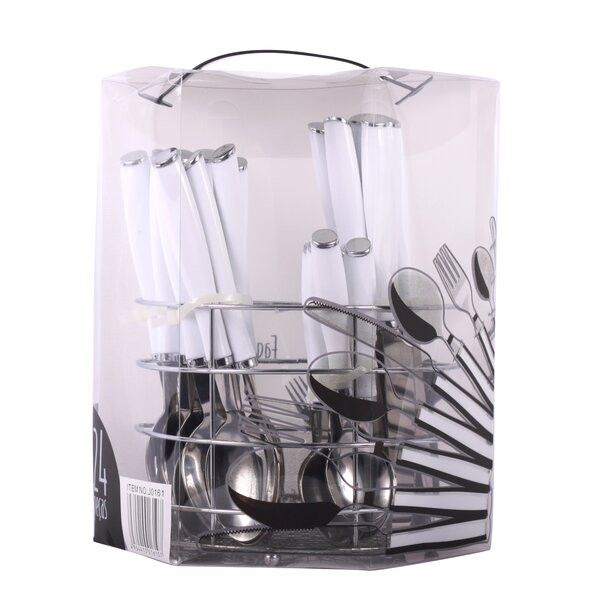 25 Piece Flatware Set by Pal HomeGoods