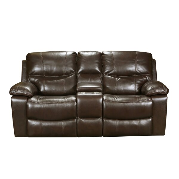 Palethorp Soft Touch Reclining Loveseat by Red Barrel Studio