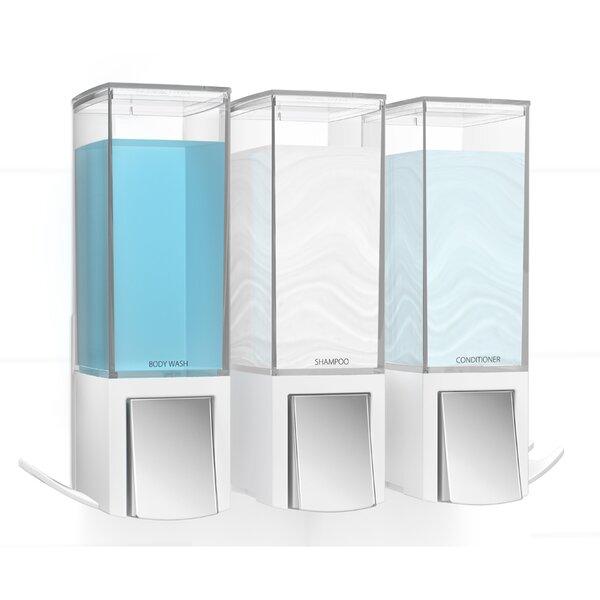 Triple Soap Dispenser by Symple Stuff