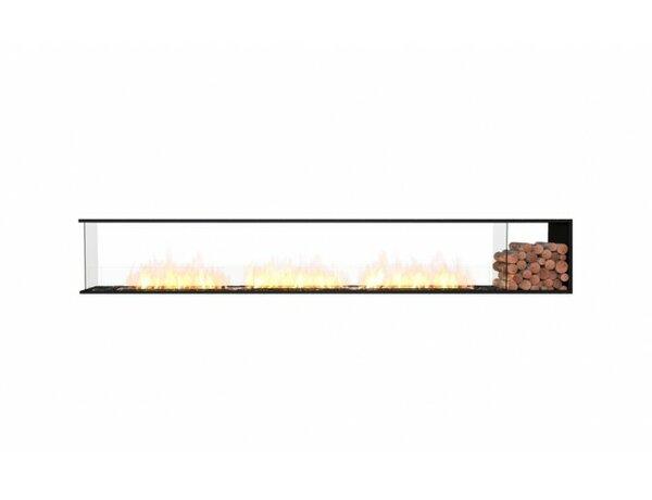FLEX140 Peninsula Wall Mounted Bio-Ethanol Fireplace Insert by EcoSmart Fire