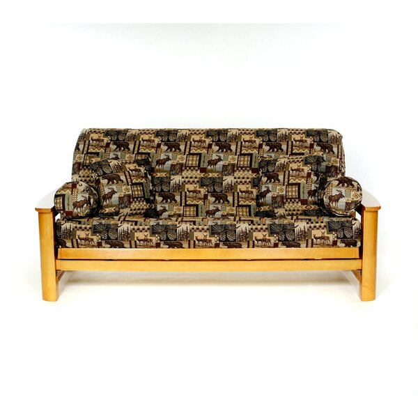 Trail Mix Box Cushion Futon Slipcover by Lifestyle Covers