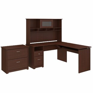 Where buy  Hillsdale 4 Piece L-Shaped Desk Office Suite By Red Barrel Studio