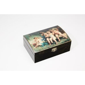 Cherub Design Jewelry Boxes (Set of 4) by AA Importing