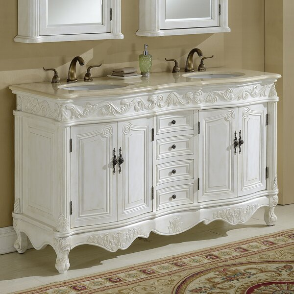 Alexis 60 Double Bathroom Vanity Set by Astoria Grand