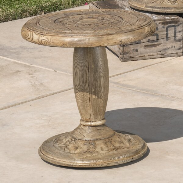 Palombo Metal Side Table by One Allium Way