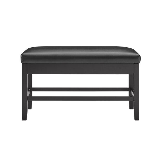 Napoli Leather Storage Bench By Wrought Studio