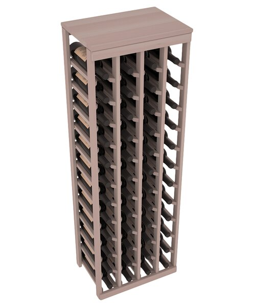 Karnes 48 Bottle Floor Wine Bottle Rack by Red Barrel Studio Red Barrel Studio