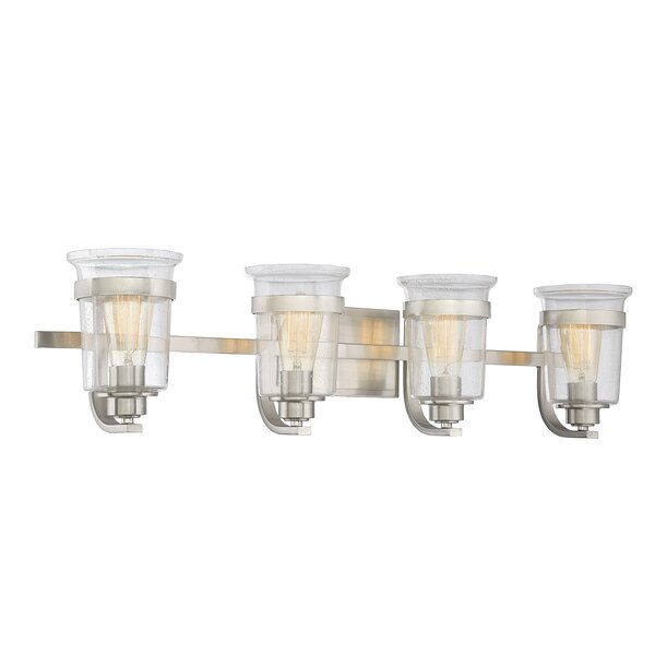 Pisek 4-Light Vanity Light by Laurel Foundry Modern Farmhouse