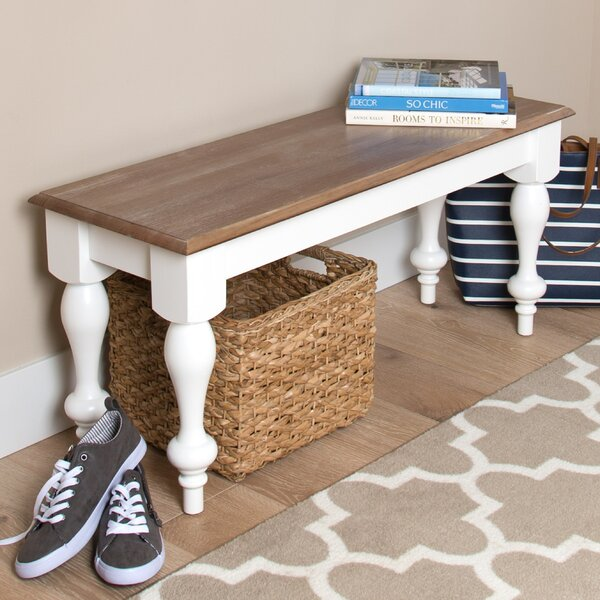 Sophia Wood Bench By Kate And Laurel Top Reviews