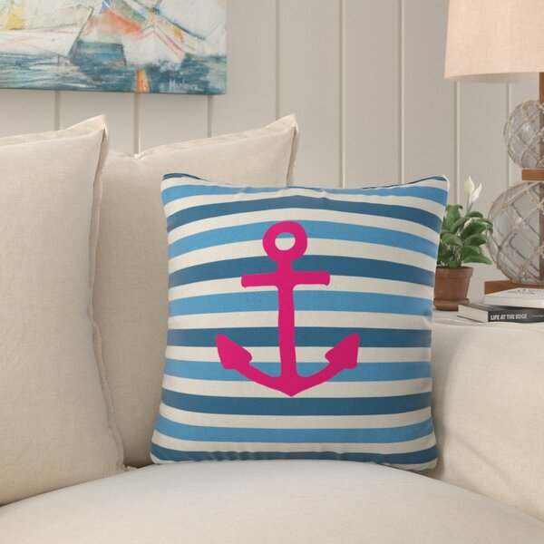 Whitherspoon Stay Indoor/Outdoor Throw Pillow by Beachcrest Home