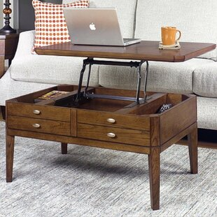 Weybossett Lift Top Coffee Table Alcott Hill