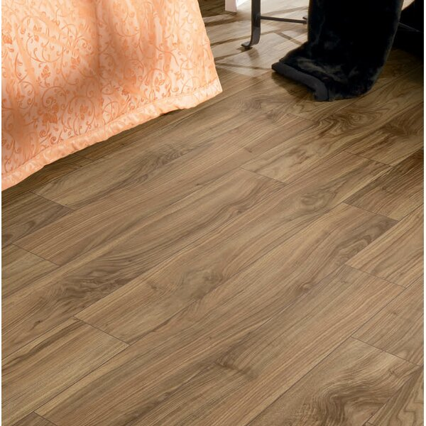 Brighton Vario 6 x 48 x 10mm Walnut Laminate Flooring in Cappuccino by Branton Flooring Collection