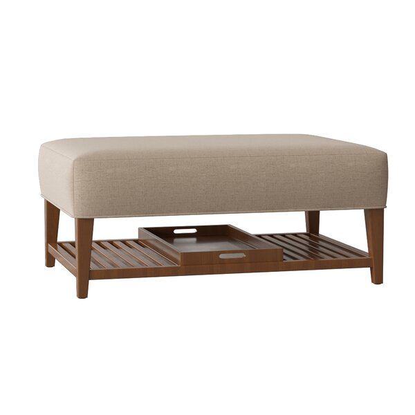 Carly Cocktail Ottoman by Craftmaster