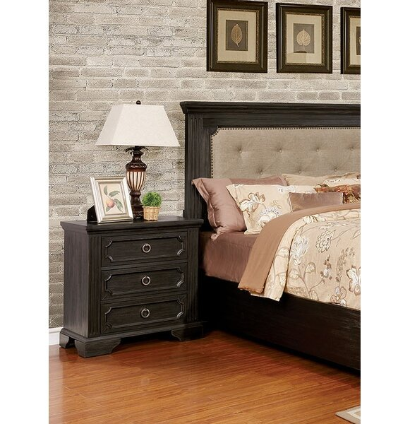 Clark 3 Drawer Nightstand by Andrew Home Studio