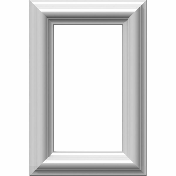 Ashford 12H x 8W x 1/2D Molded Classic Wainscot Wall Panel by Ekena Millwork